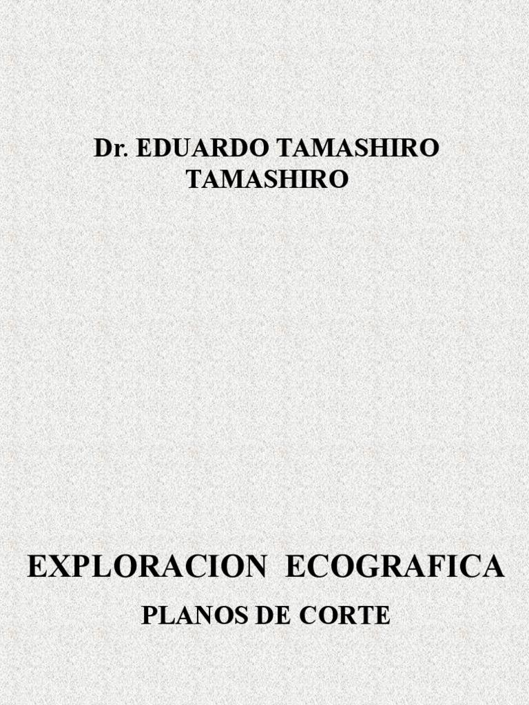 Planos de corte ecografico abdomen
