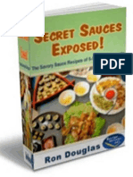 Secret Sauces Exposed The Savory Sauces - Ron Douglas.pdf