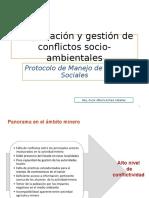Negociacion y Gestion de Conflictos Socio-Ambientales