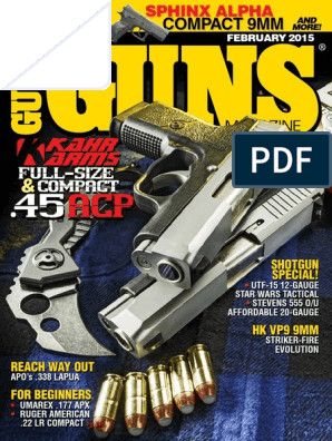 guns magazine February 2015 | Firearms | Projectile Weapons