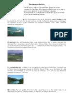 Ríos, Montañas, Lago, Lugunas de Centro America