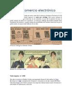 Historia Comercio Electrónico