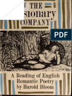 The Visionary Company a Reading of English Romanti