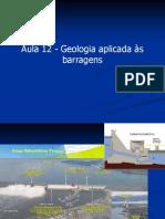 Aula 13 - APP - Geologia Aplicada a Barragens e Tuneis