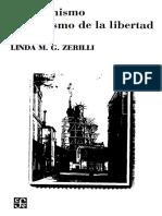 Zerilli, Linda M G - El Feminismo Y El Abismo De La Libertad.pdf