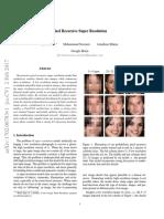 Pixel Recursive Super Resolution