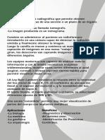 tomografia diseños de panfletos