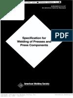 AWS D14.5 - 97 WELDING PRESSES ET..pdf