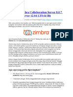 Instalasi Zimbra Collaboration Server 8.0.7 Di Ubuntu Server 12.04 LTS 64 Bit (Webmin)