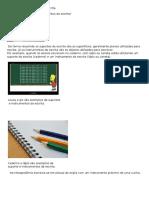 Suportes e Instrumentos Da Escrita