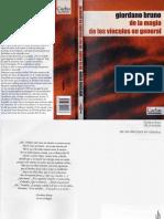 Bruno Giordano - De la Magia de los Vinculos en General.pdf