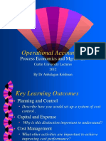 Operational Accounting