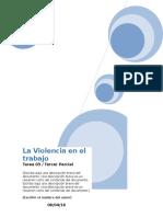 Tarea Psicologia Violencia en El Trabajo