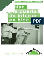 Instalar una puerta de interior en block.pdf