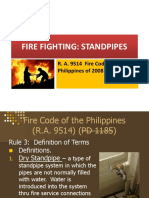 4. Fire Fighting - Standpipes