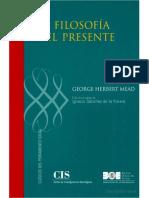 George Herbert Mead - La filosofía del presente EDIT.pdf