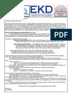 E.K.Y. Nazarene District Newsletter