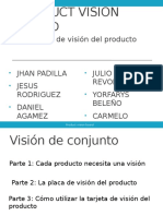 Product Vision Board Introduction Español