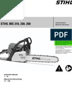 Stihl Ms 210