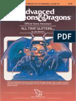 D&D 1e All That Glitters