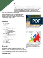 Southern Europe - Wikipedia