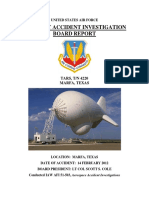 Aircraft Accident Investigation Board Report