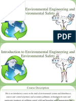 Introduction to Environmental Engineering and Environmental Safety