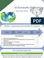 Engineering and Sustainable Development