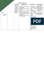 Nutritional Imbalance (NCP)