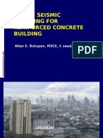 Simple Seismic Detailing for Reinforced Concrete Building