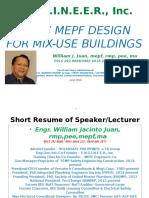 Basic Mepf Design for a Mix-use Bldg
