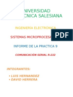 Comunicacion Serial R-232