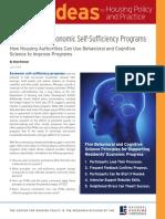 Brennan - Strengthening Economic Self-Sufficiency Programs