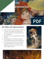 the impressionists 1