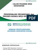Materi Diklat Capeg Pengenalan Organisasi Dan Proses Bisnis BPJS Kesehatan 1