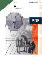 Pendulum Impact Testers - Impact Testing Machine - Aimil.com | PDF