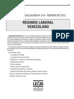 BT. Régimen Laboral Venezolano