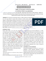 Survival ability of Corynespora cassiicola in rubber (Hevea brasiliensis Muell. Arg.) plantations