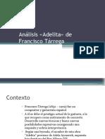 Análisis «Adelita» de Francisco Tárrega