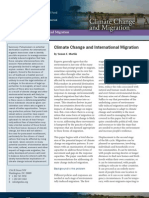 Climate Change and International Migration