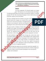 A Project Report on Financial Performance Evaluation With Key Ratios at Vasavadatta Cement Kesoram Industries Ltd Sedam Gulbarga (1)