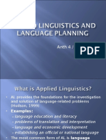 Applied linguistics and language planning (for online).ppt