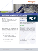 Markdown Optimization Scores 6% Increase in Gross Margin and Improve Sell-Through