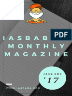 IASbabas Monthly Current Affairs Magazine 2017