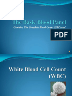 1 Blood Panel Summary