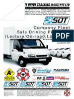 Sdt Company Fleet Proposal (Australia-2014)