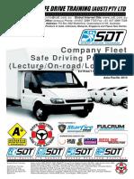 Sdt Company Fleet Proposal (Australia-2014)