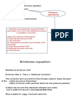 Brinkman Equation