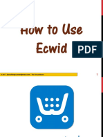 How to Use Ecwid to Make an Online Store on Facebook Page - Jayvee Cochingco - The Virtual Master