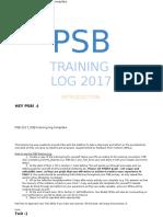 psbtraininglog